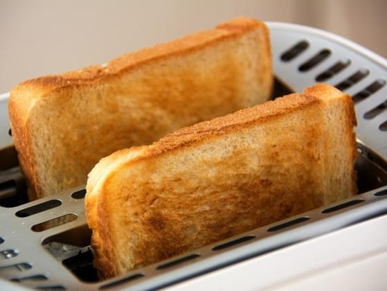 You drop your toast on the floor butter side down. How do you proceed?
