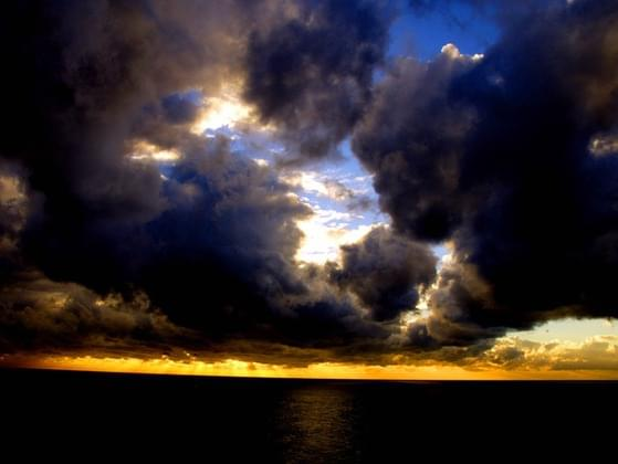Finish the following statement: 'Behind every dark cloud is _______'