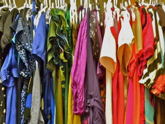 What is your favorite color or what color do you have the most of in your closet?