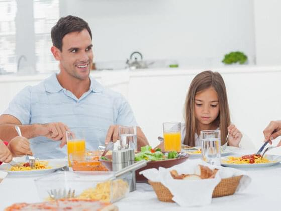 What were you most likely to hear at the dinner table growing up?
