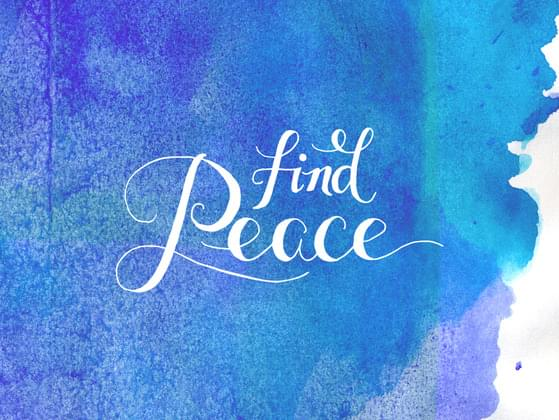 Where would you most likely find peace?