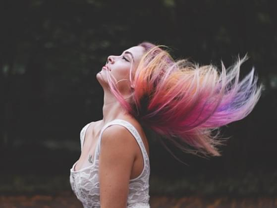 Would you ever dye your hair a crazy color?
