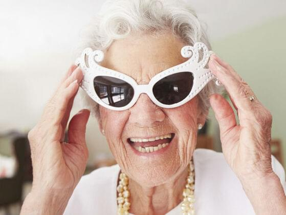 Would you consider your grandmother to be a lot of fun