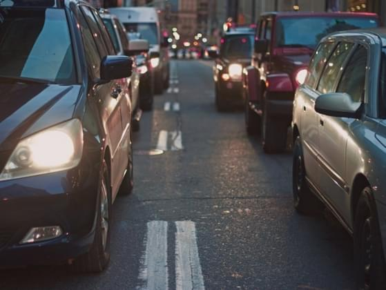 You're stuck in traffic. What's your reaction today?