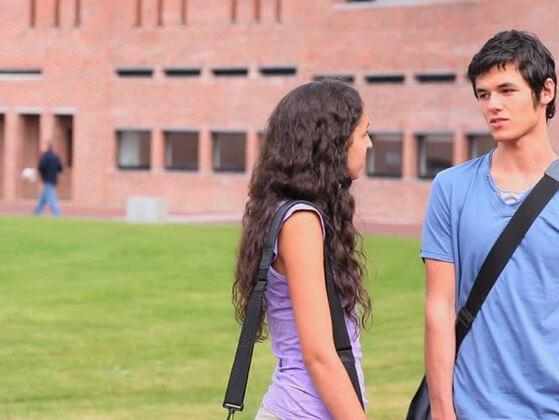 Your ideal college boyfriend is into: