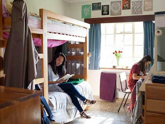 What would make you hate living in a dorm the most?