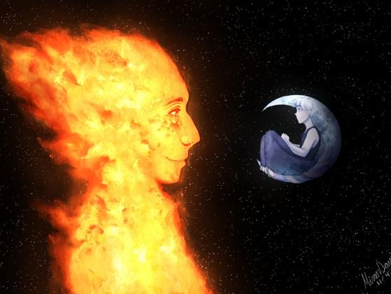 Which one appeals more to you? The Sun or The Moon?