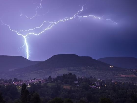 Which thing do you dislike the most about a thunderstorm?