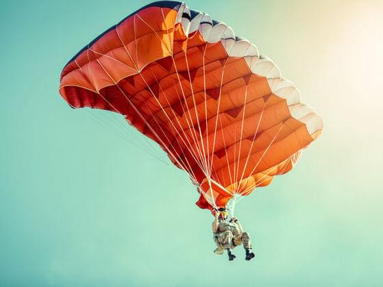 Would you ever sky dive?
