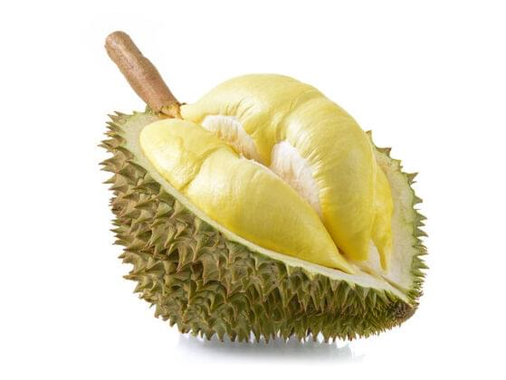 In Singapore it's illegal to open this bumpy fruit in public places...