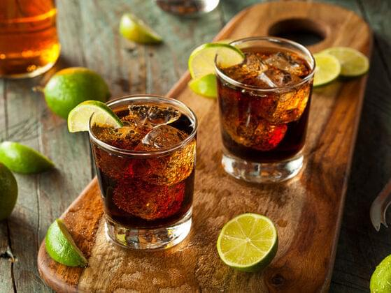 What's the best mixer with Coke?