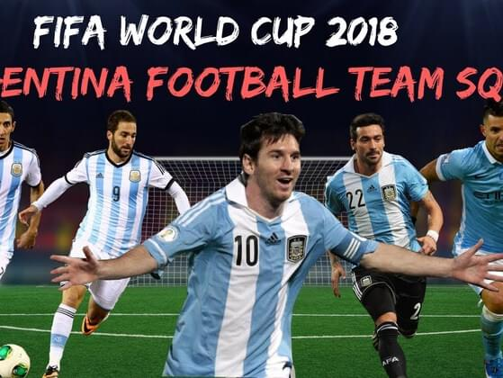 Who is NOT a player for Argentina's 2018 national team?