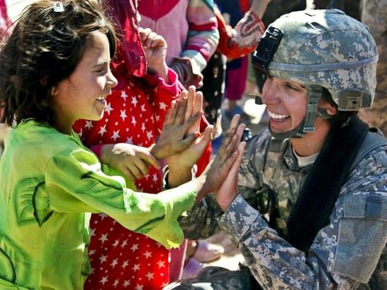 Should women be allowed to serve on the front lines of war?
