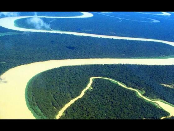 Which continent contains the world's longest river?