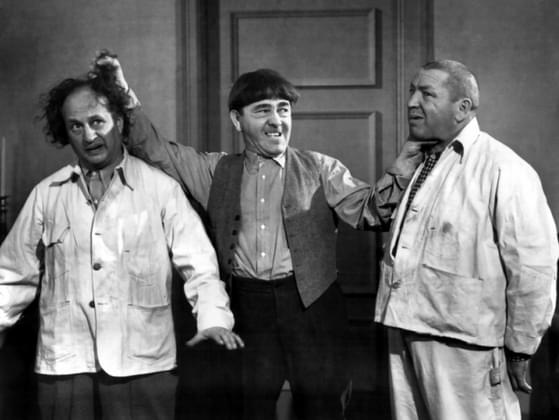 The Three Stooges are....