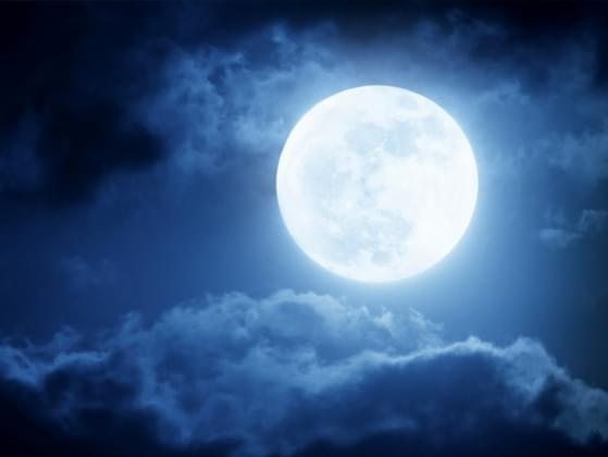 Changes in the moon's appearance are