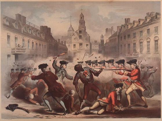 John Adams said that the Boston Massacre was the fault of a man named Crispus Attucks.