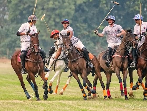 In polo, what is a period of play called?