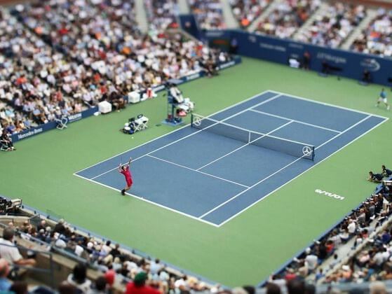 What variation might one play in tennis?