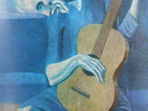 The Old Guitarist by Pablo Picasso resides in which museum?
