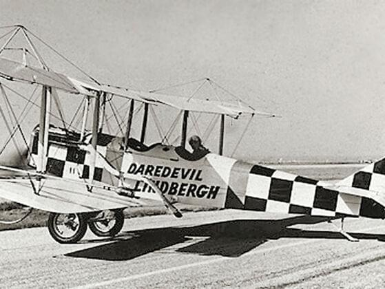 Charles Lindbergh's aircraft Spirit of St. Louis is on display at which museum?