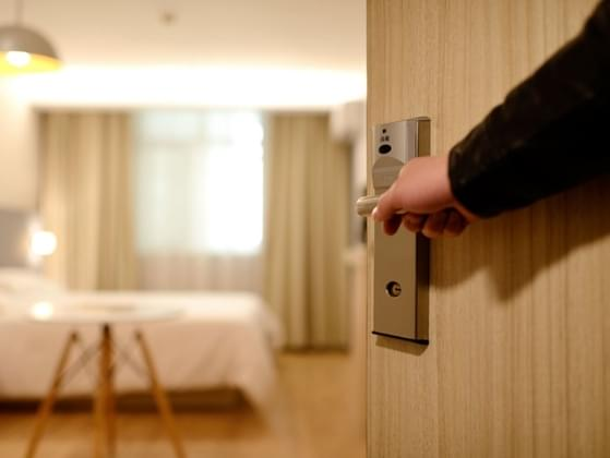 Do you prefer to have the door to your room open or closed?
