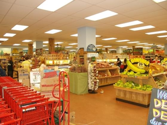 Which grocery store chain reigns supreme?