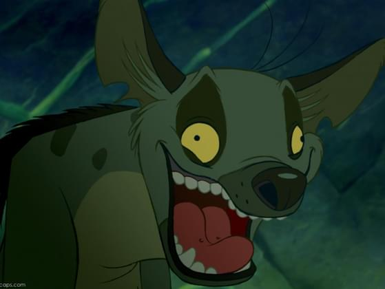 What was this hyena's name?