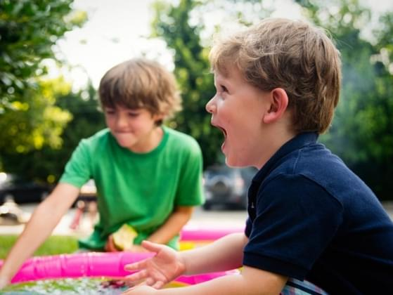Would you describe your humor as childlike or very mature?