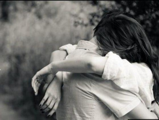 How do you feel when he/she gives you a tight hug?