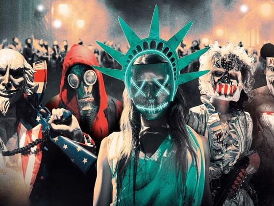 The purge has started you...