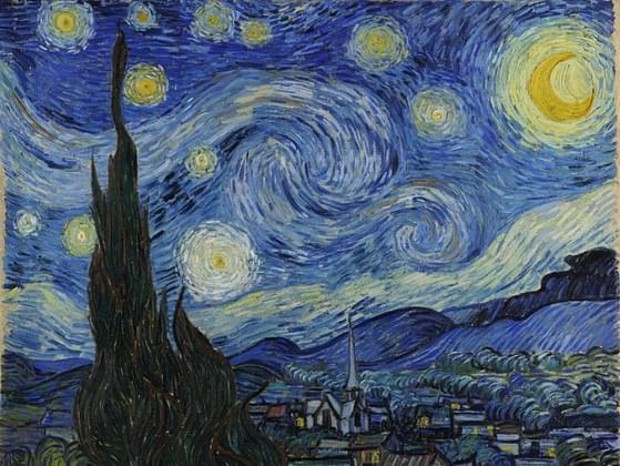 This painting, by Vincent van Gogh, is called what?