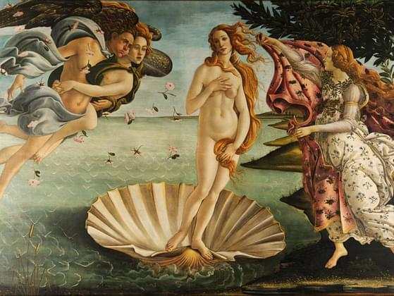 This painting, by Sandro Botticelli, is called what?