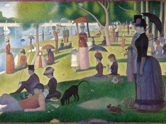 This painting, by Georges Seurat, is called what?