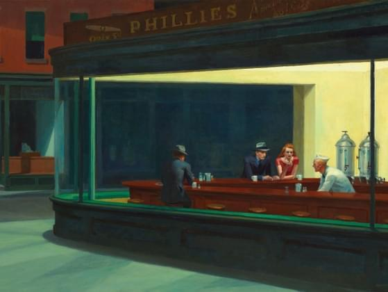 This painting, by Edward Hopper, is called what?