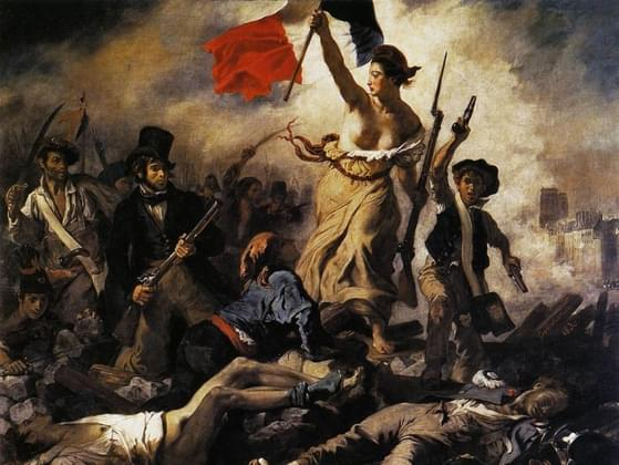 This painting, by Eugene Delacroix, is called what?