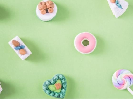 Choose something sweet to eat: