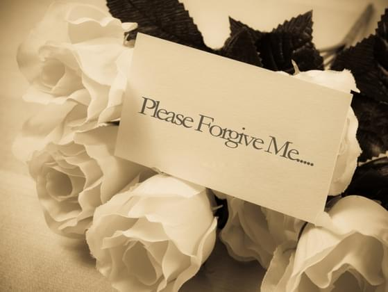 Do you ever ask God or other people for forgiveness?