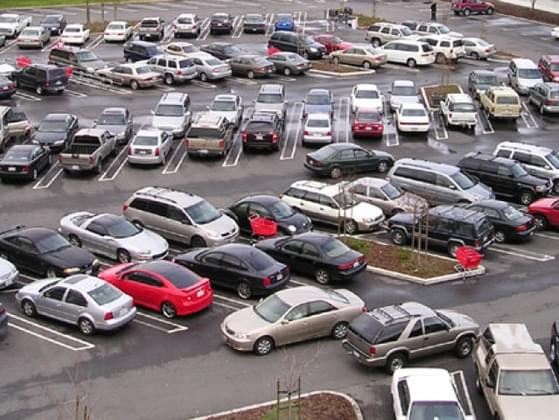 You've been waiting for the parking spot for the last five minutes, and when the car you've been waiting for finally pulls out, another car zooms in. What do you do?