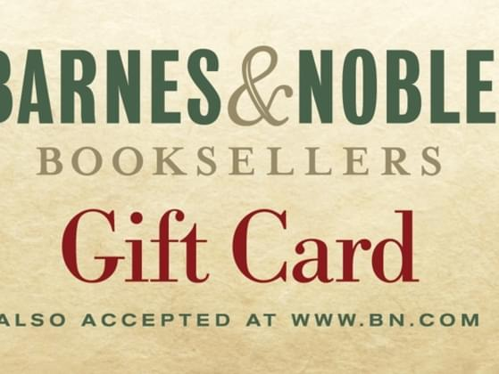 You get a giftcard to Barnes and Noble. What do you spend it on?