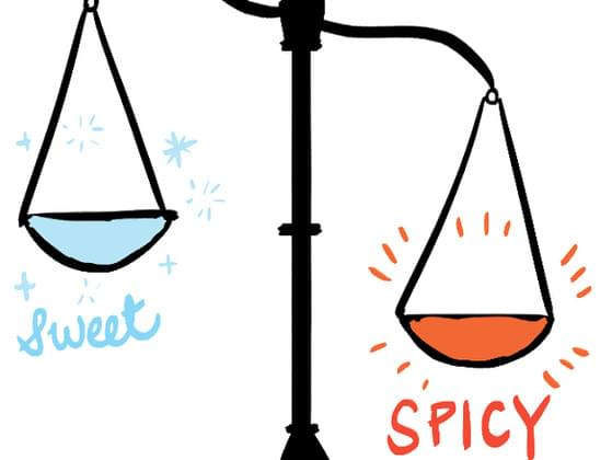 Sweet or spicy?