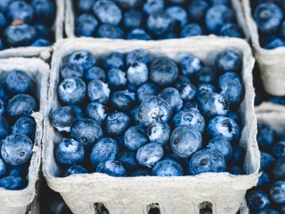 Which is better: blueberries or grapes?