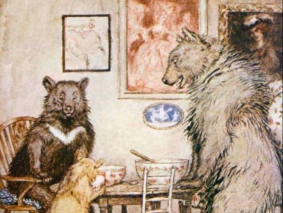 Who originally wrote Goldilocks and The Three Bears?