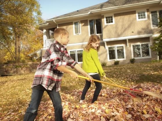 When you were little, did you have chores around the house?