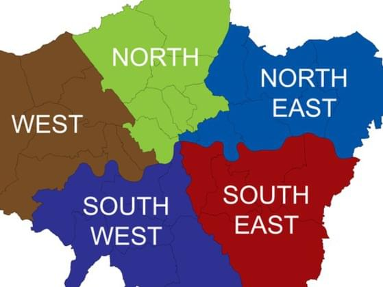 Which of the following regions do you prefer?