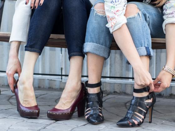 What style of shoes do you wear?