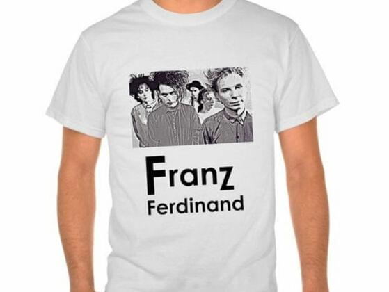 Do you ever wear t-shirts with a band's name on it?