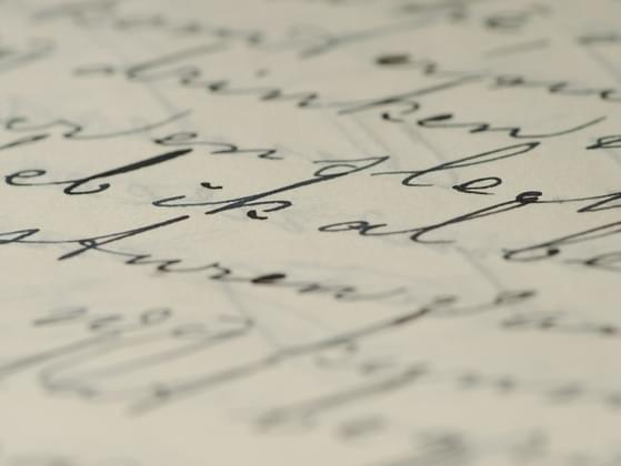 What word best describes your handwriting?