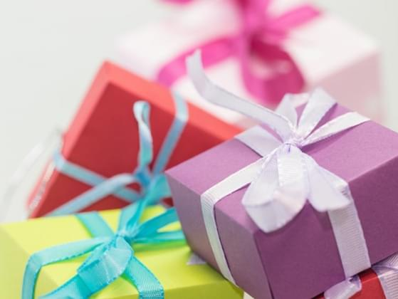 When was the last time you received a gift?