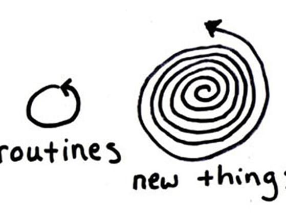 Do you try new things?